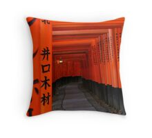 Fushimi Inari Shrine 2 Throw Pillow