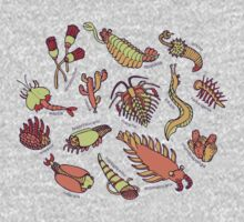 Cambrian Critters One Piece - Long Sleeve