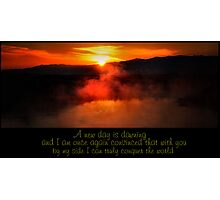 A New Day ............. Photographic Print