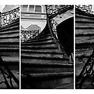 a triptych on the stairs by ragman