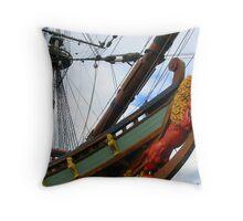 Figurehead and The Batavia Throw Pillow