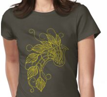 Jazzy Peacock 03 Womens Fitted T-Shirt