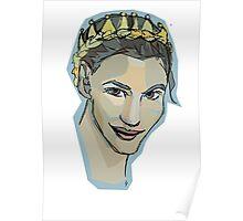 crown braid  Poster