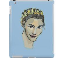 crown braid  iPad Case/Skin