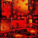 Grunge Valentine by krddesigns