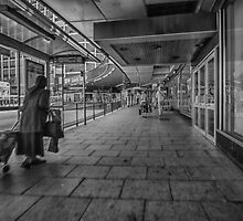 Leeds Station Mono by Glen Allen