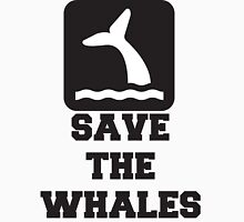 Save The Whales, Icon, Quote T-Shirt