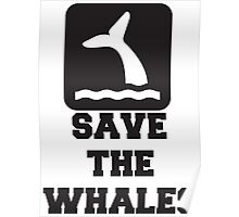 Save The Whales, Icon, Quote Poster
