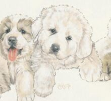 Great Pyrenees Puppies Sticker
