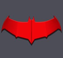 Red Hood Bat Symbol by Julian Arnold