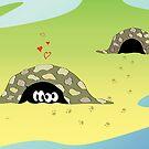 Turtles In Love by krddesigns