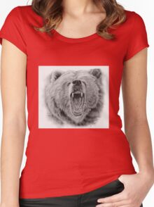 Beware of The Bear Women's Fitted Scoop T-Shirt