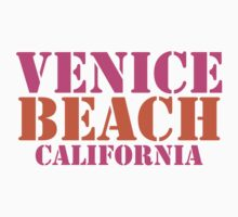 Venice Beach California Baby Tee
