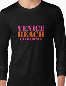 Venice Beach California Long Sleeve T-Shirt