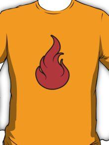 Pokemon Fire Type T-Shirt