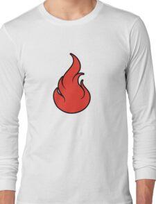 Pokemon Fire Type Long Sleeve T-Shirt