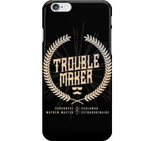 Trouble Maker iPhone Case/Skin