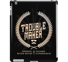 Trouble Maker iPad Case/Skin