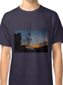 Tree at Brimham Rocks, Yorkshire, England Classic T-Shirt