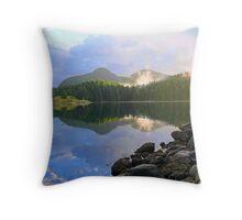 due north at dawn Throw Pillow