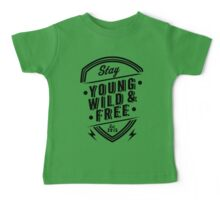 Young Wild Free Baby Tee