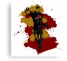 Iron Man Colour Splash Canvas Print