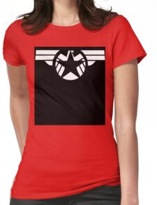 Geek Fusion : Captain SHIELD Womens Fitted T-Shirt