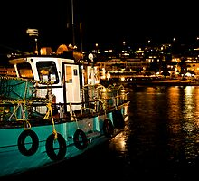 Kalk Bay at Night by Tim Cowley