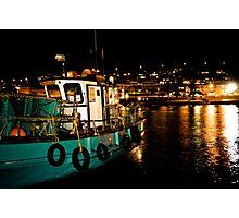 Kalk Bay at Night Photographic Print