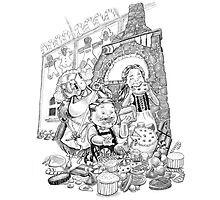 Hansel & Gretel Photographic Print