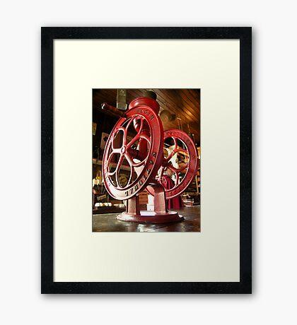 coffee grinder ... Framed Print