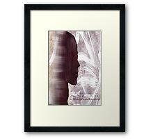 Faith Lehane - The Dark Slayer Framed Print
