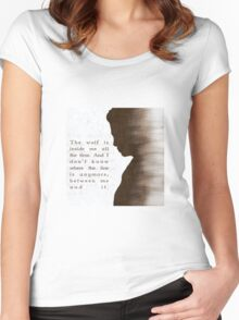 "Daniel ""Oz"" Osborne  Women's Fitted Scoop T-Shirt"