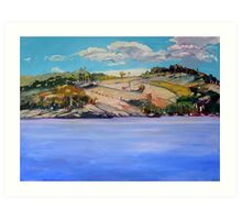 Connolly Dam 2 Art Print