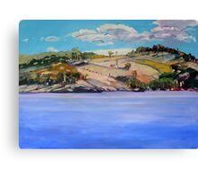 Connolly Dam 2 Canvas Print