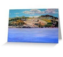 Connolly Dam 2 Greeting Card