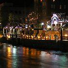 Truckee River Lights  by Jon  Johnson