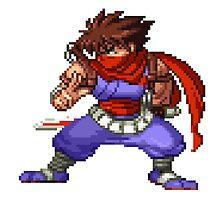 Strider Hiryu (NxC) by Lupianwolf