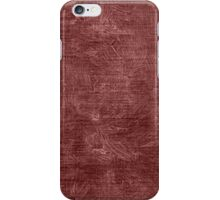 Marsala Oil Painting Color Accent iPhone Case/Skin