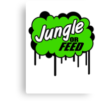 League of Legends: Jungle or Feed Canvas Print