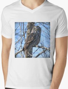Watcher of the woods Mens V-Neck T-Shirt