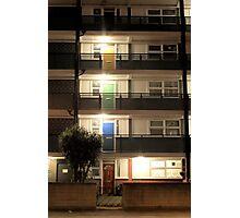 Coloured Doors Photographic Print