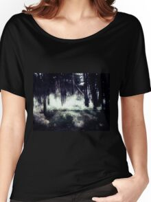 Night Forest Women's Relaxed Fit T-Shirt