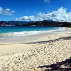 Grand Anse Beach, Grenada. by John Dalkin