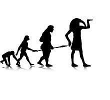 Human Evolution 12 Photographic Print
