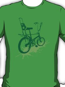 twisted wheels: chopper splash green T-Shirt