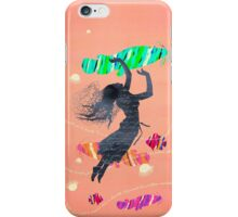 Space Surrealism Pop Vintage Woman I iPhone Case/Skin