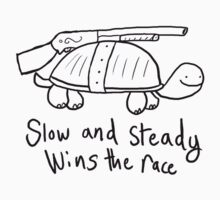 Slow and Steady Wins the Race by notgeoff