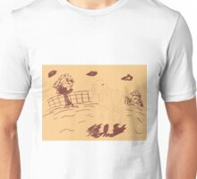 Rural Landscape with a Sheep 3 Unisex T-Shirt