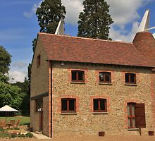 Oast house in Kent England by Tony Kemp